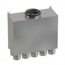 Akustinė oro paskirstymo dėžė AOPD 160-10x75