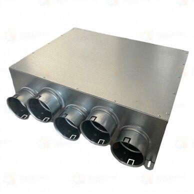 Akustinė oro paskirstymo dėžė AOPD 125-5x75
