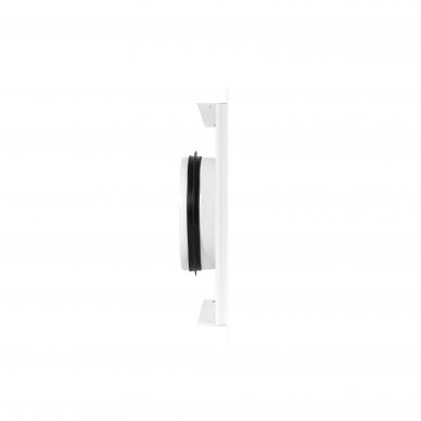 Difuzorius kvadratinis DKP plonu fasadu ir montavimo lizdu 3