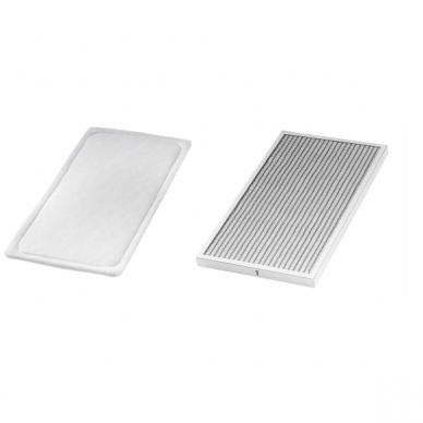 G4 & F7 klasės filtrų komplektas 525 x 185 mm (1+1 vnt.) Renovent Excellent 300&400