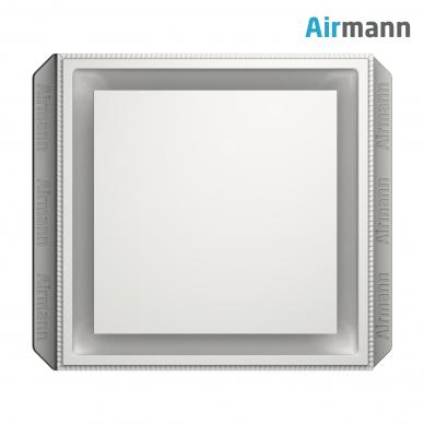 Kvadratinis gipsinis priglaistomas oro difuzorius AIRMANN Square