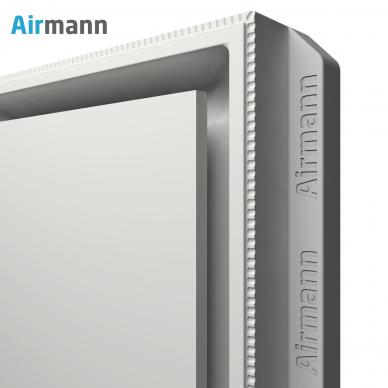 Kvadratinis gipsinis priglaistomas oro difuzorius AIRMANN Square 4