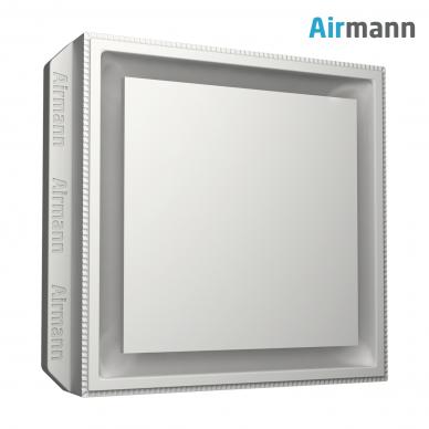 Kvadratinis gipsinis priglaistomas oro difuzorius AIRMANN Square 2