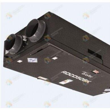 Plokštelinis rekuperatorius Brofer RDCD50SKE (su entalpiniu šilumokaičiu)