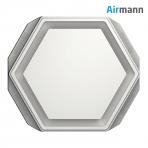 Šešiakampis gipsinis priglaistomas oro difuzorius AIRMANN Hexa