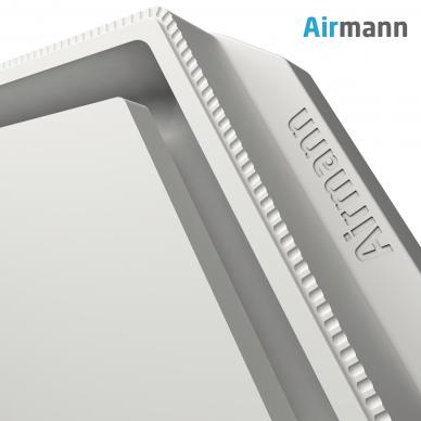 Šešiakampis gipsinis priglaistomas oro difuzorius AIRMANN Hexa 4